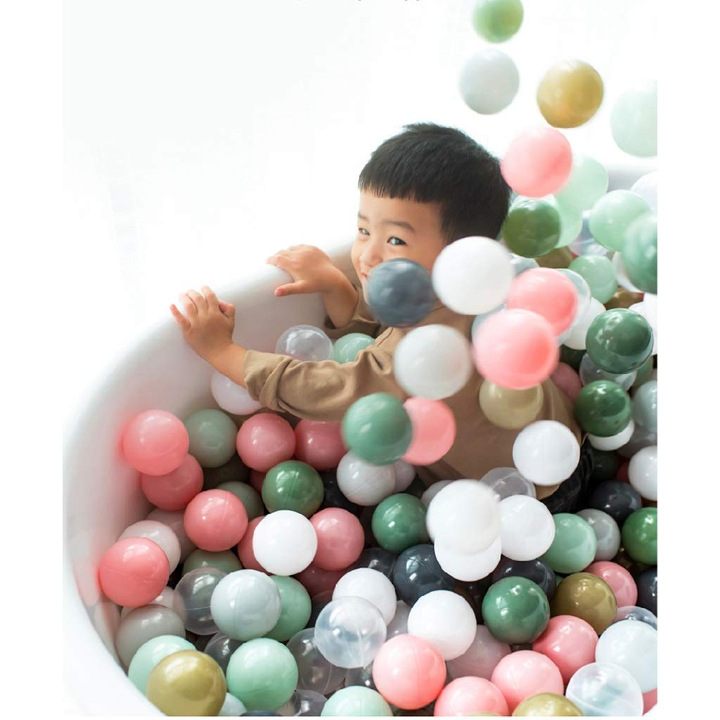 LINGLING Marine Ball Indoor Non-Toxic Children Home Wave Ball Children's Toys Color Ball Marine Ball Kids Toys (Size : 100) by LINGLING-Ocean ball
