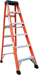 Tradecraft 6' Fiberglass Step Ladder Grade 1A 300lb