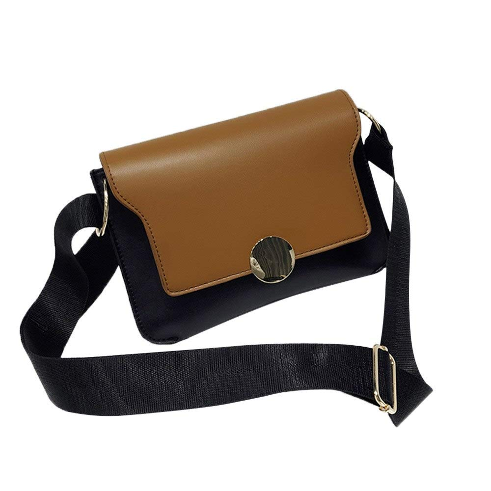 Amazon.com: Fashion Women Hit Color Handbag Bag Crossbody ...
