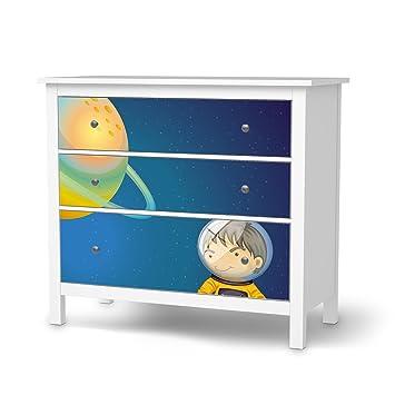 Klebetapete Folie Aufkleber Für IKEA Hemnes Kommode 3 Schubladen | Möbel  Folieren Sticker Möbel Möbelfolie |