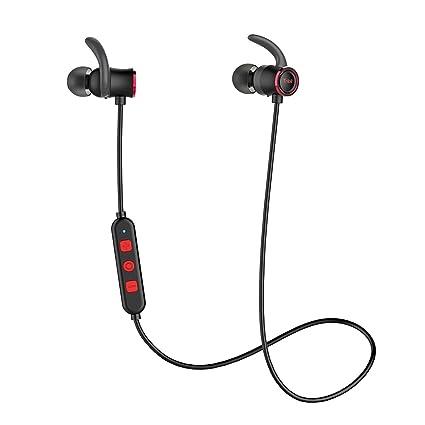 Tribit - Auriculares XFree Deportivos inalámbricos y con micrófono. con Bluetooth, 10 Horas de
