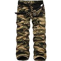 Atditama Men's Fleece Lined Cotton Casual Military Army Cargo Camo Combat Work Pants