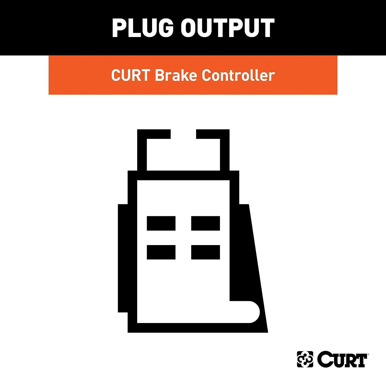 Lincoln MKT Flex CURT TriFlex Brake Controller /& Wiring Kit for Ford F-150 51437 /& 51140