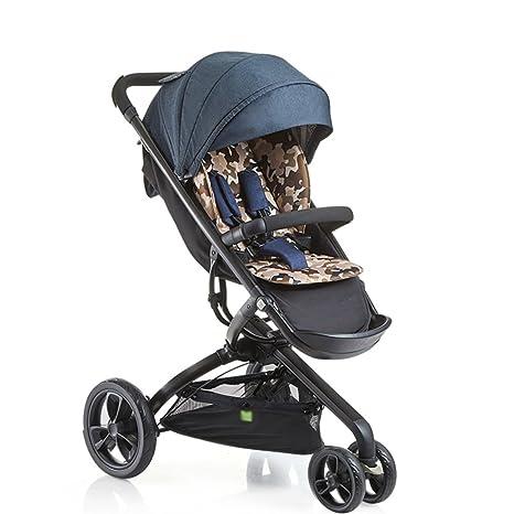 ERRU- Cochecitos portátiles para niños Carrito portátil para bebés Sistemas de viaje al aire libre