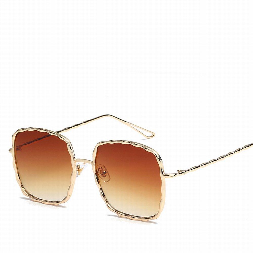 Spirale Muster Metall Sonnenbrille Farbe Film Dame Gläser Goldrahmen ...
