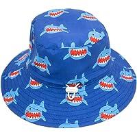 Aibrou Gorro Bebé Verano, UPF 50+ Sombrero Playa Niñas de 100% Algodón, Sombrero de Sol con ala Ancha Ajustable Ideal…