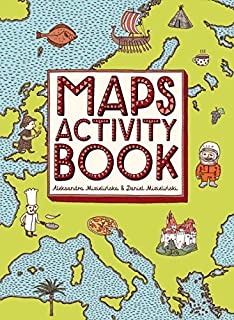 Atlas of adventures activity fun pack with a coloring in book huge customers who bought this item also bought gumiabroncs Gallery