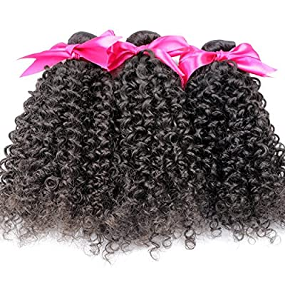 Original Queen 100% Brazilian Unprocessed Virgin Kinky Curly Human Hair Weave 3 Bundles Deep Curly Hair Extensions Mixed Length
