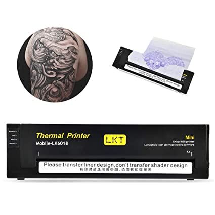 Amazon.com: Thermal Transfer tatuaje máquina, portátil ...