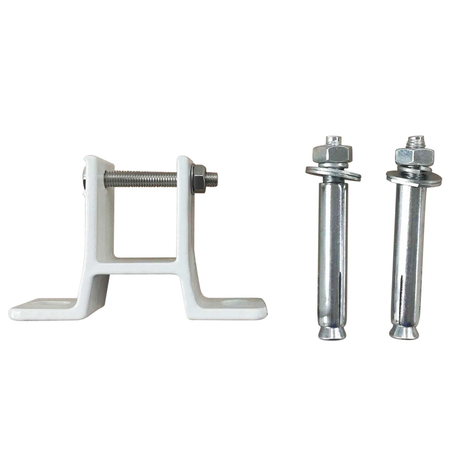 Green Bay Greenbay Standard Awning Wall Bracket Fit 35mm Square Torsion Bar White Manufactured for Greenbay