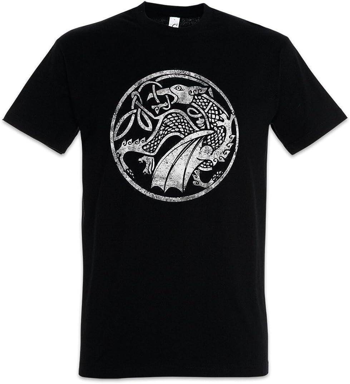 Urban Backwoods Celtic Druid Uomo T-Shirt