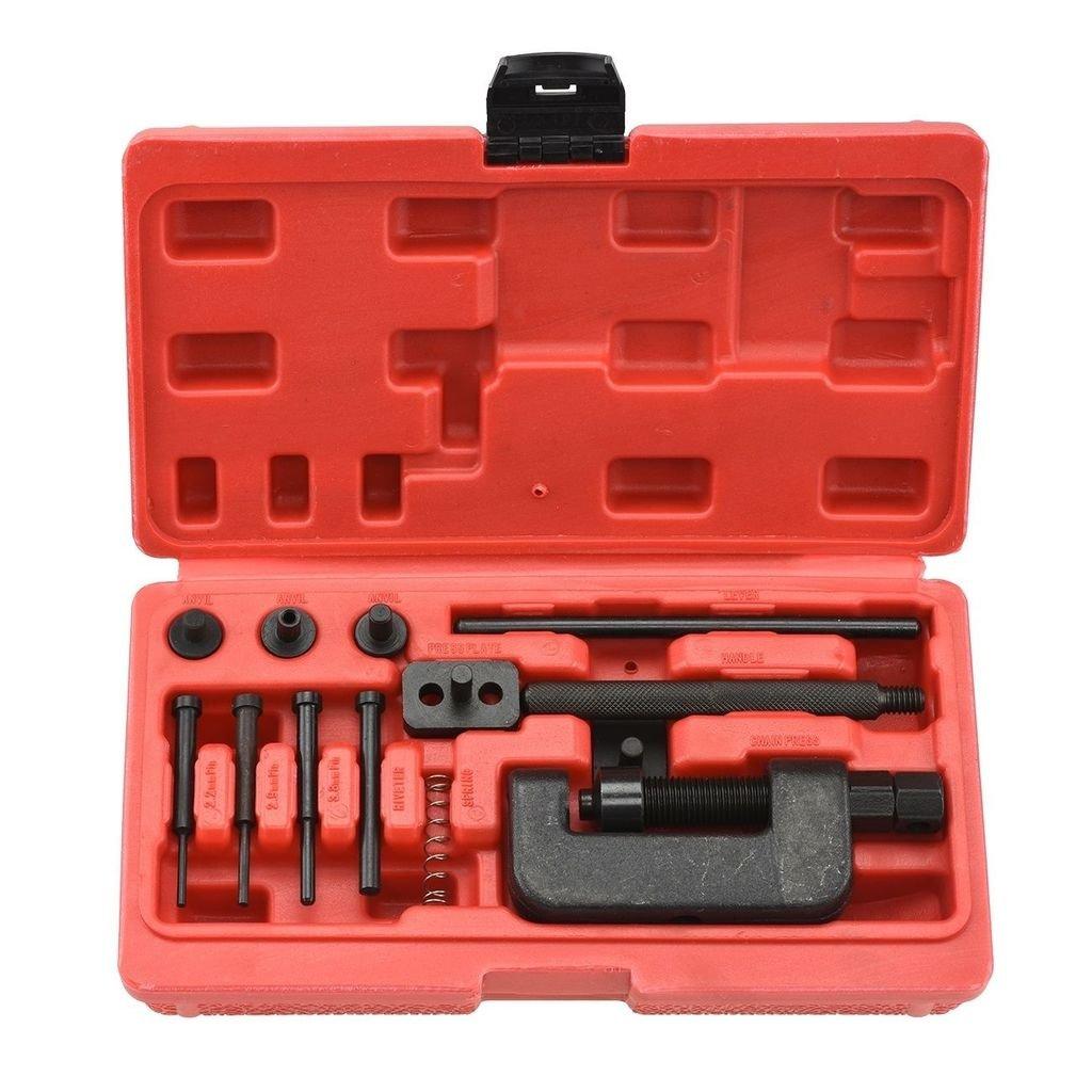 SUPERCRAZY Motocycle Chain Cutting Break Riveting Tool Kit SC0001 SUPER TOOLS