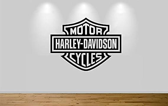 Motorbike Superbike Harly Davidson Vinyl Self Adhesive Wall Sticker