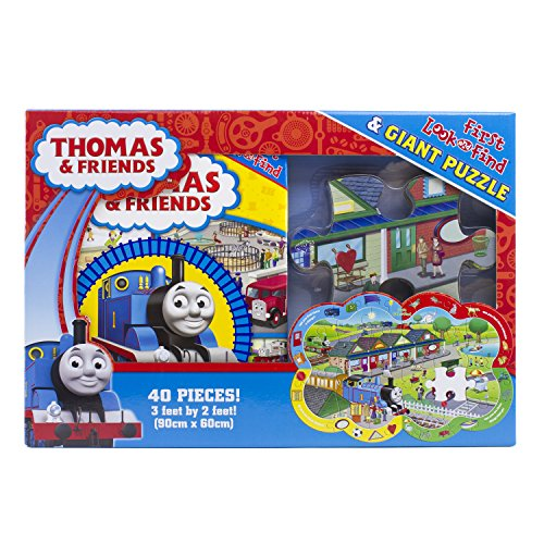 Thomas & Friends First Look and Find & Giant Puzzle 9781450829281