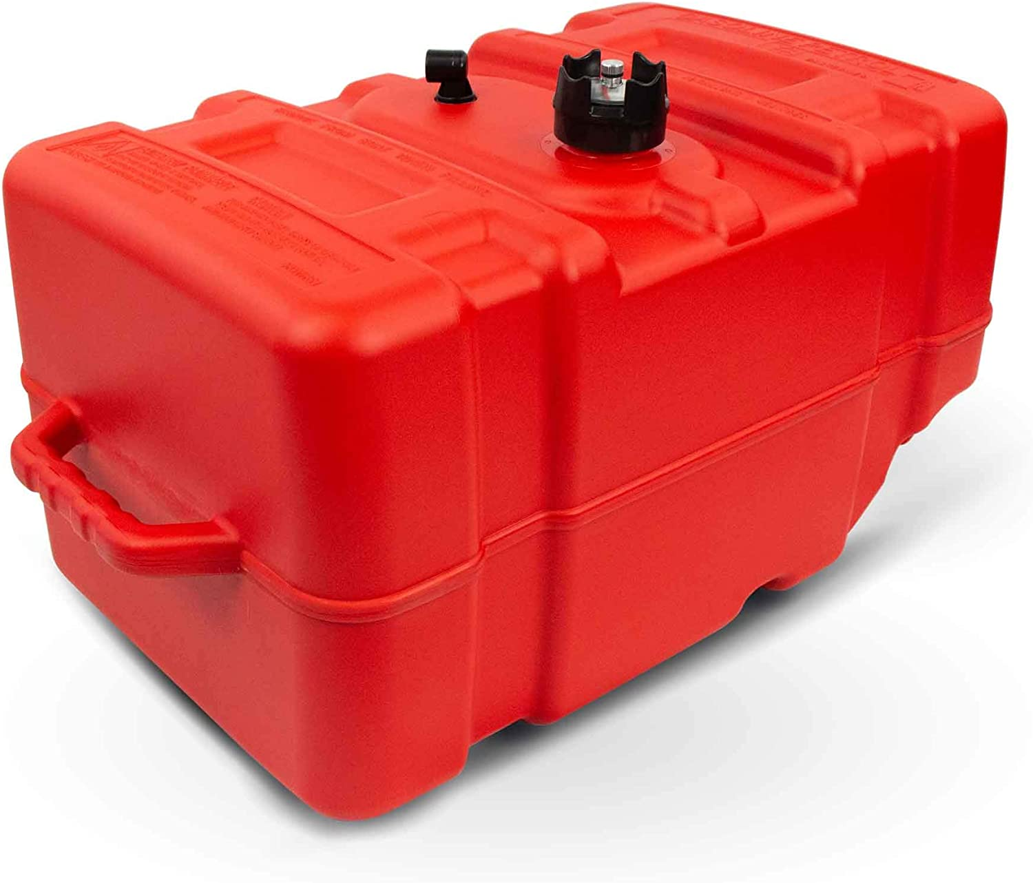 Five Oceans 12 Gallon Fuel Tank//Portable Kit for All Yamaha and Mercury Engines Connection 3//8IN Hose FO-4269-C4