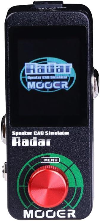 MOOER Radar Guitar Speaker CAB Simulator