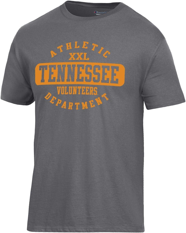 Champion NCAA Mens Ringspun Short Sleeve T-Shirt