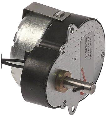 mechtex Engranaje Motor ancho 48 mm 230 V 50/60Hz para dispensador de bebidas Longitud