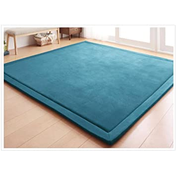 Coral Velvet Mat Area Rugs Play Crawling mat for Baby Toddler Children Play Mat Yoga Mat Exercise Pads (5.0x68