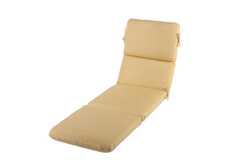Amazon.com : Phat Tommy Sunbrella Outdoor Chaise Lounge Cushion ...