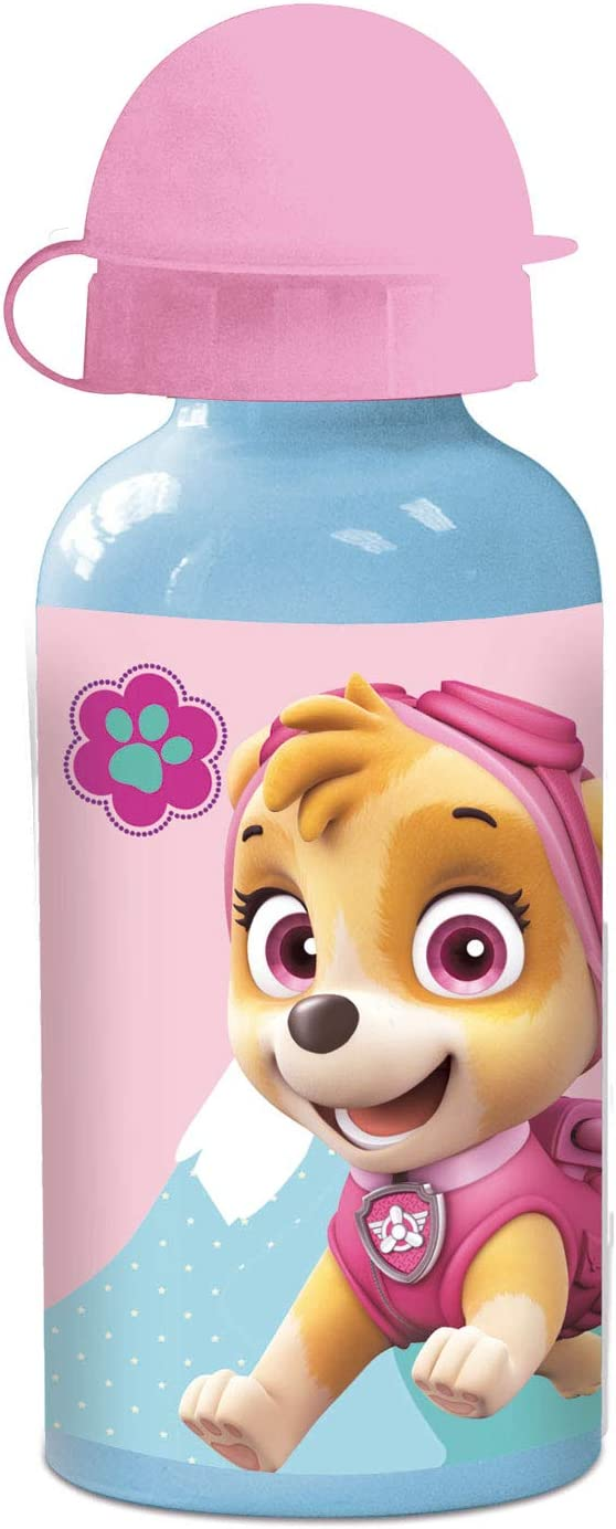 P: os 29229 – Botella, Paw Patrol Girls, Aluminio, Aprox. 400 ml