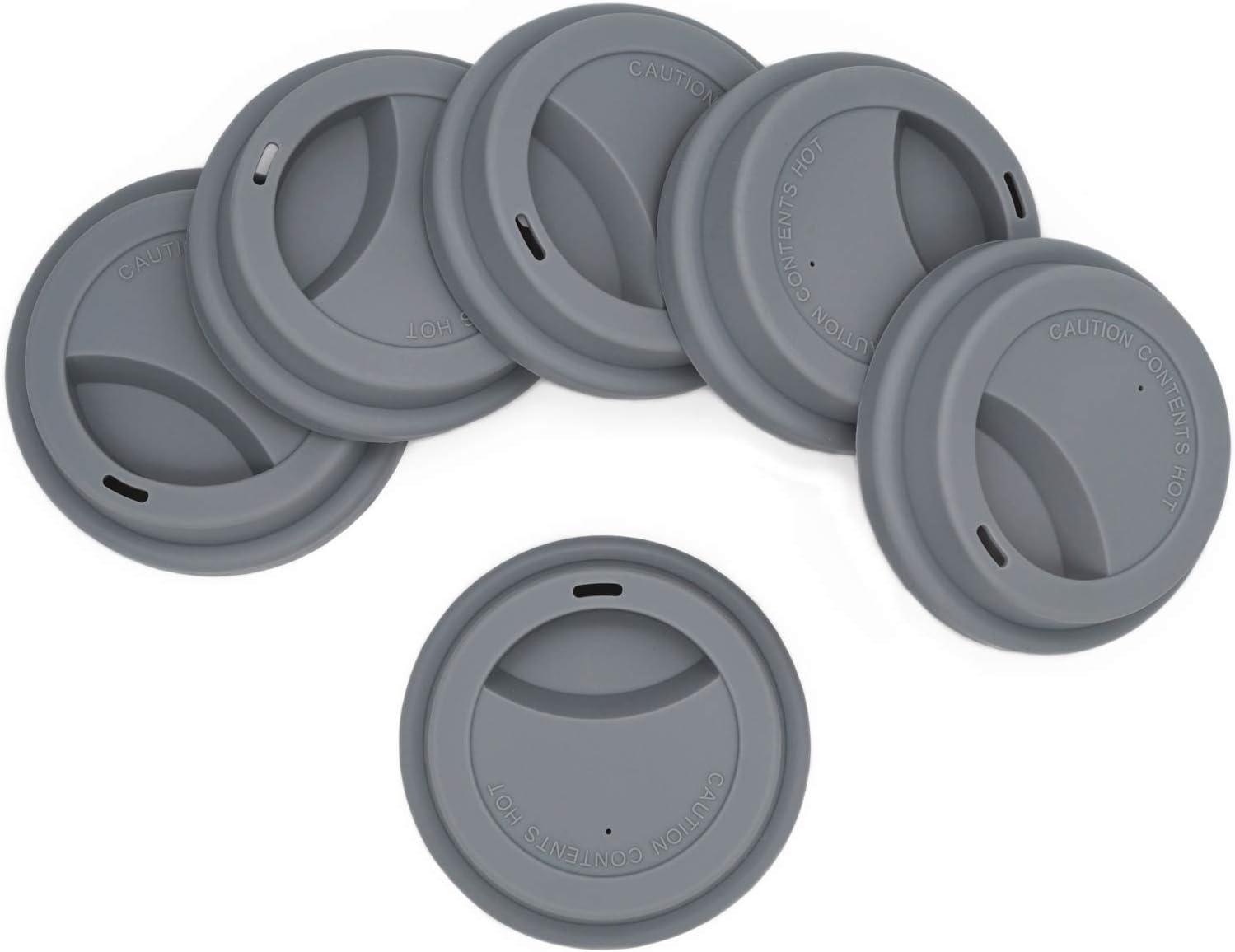 DXLing 6 Piezas Tapa de silicona Tapa de Beber Taza de caf/é Reutilizable con dise/ño de diamantes Cubierta de Copa de Diamante Antipolvo Tapa de Silicona Linda Tapas de Cierre Herm/ético para Tazas