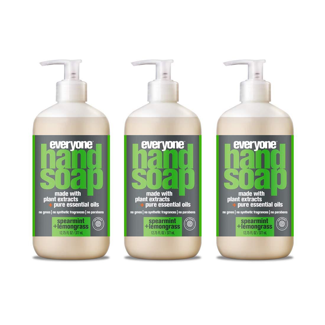Everyone Hand Soap, Spearmint and Lemongrass, 12.75 Fl Oz (Pack of 3)