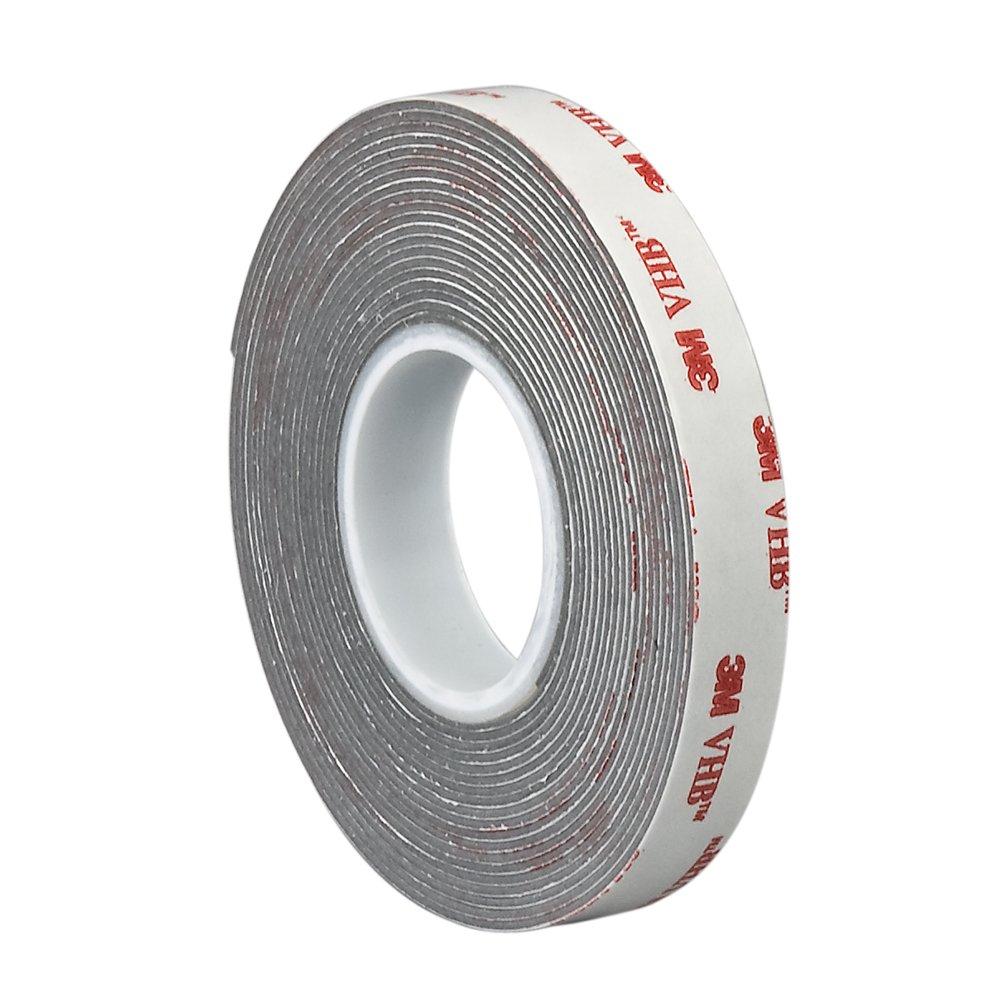 3M VHB Tape 4941, 0.25 in Width x 5 yd Length