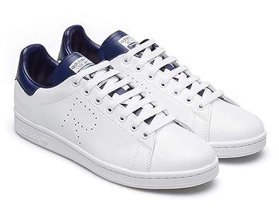 Adidas Baskets Stan Smith Homme en Cuir Blanc - Code modèle: B22543 RS - Taille