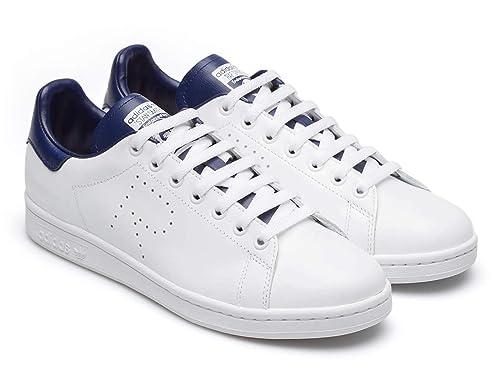 Zapatillas Adidas Stan Smith para Hombre en Piel Blanca. - Número de Modelo: B22543 RS - Tamaño: 39.5 EU: Amazon.es: Zapatos y complementos