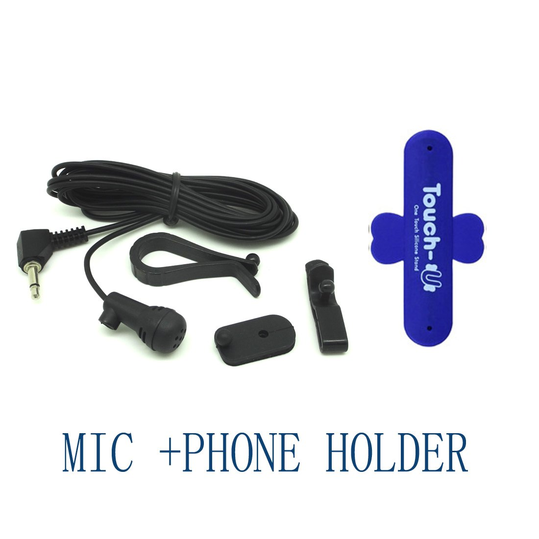 Yihao Mic Microphone Car Radio Cd Player Stereos Sony Xav 601bt Wiring Harness Bluetooth For With Holder Gps Navigation