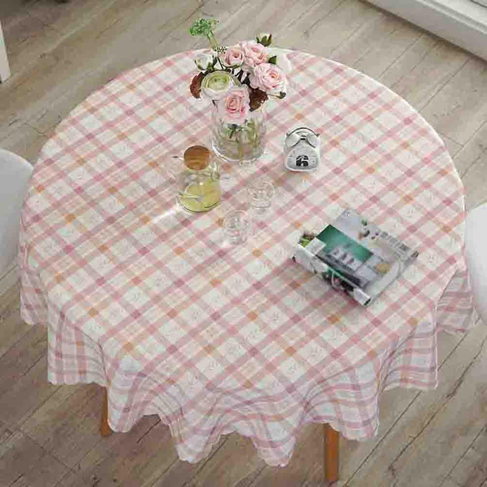 Pastoral Tischdecken Hotel Home Esstisch Matte Wasserdicht Wasserdicht Wasserdicht Anti-Heißöl , 002 , round 180cm 79e7d8