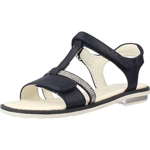 Geox J82E2B 000BC Sandalo Velcro Bambino Blu 28 9497d73deb6