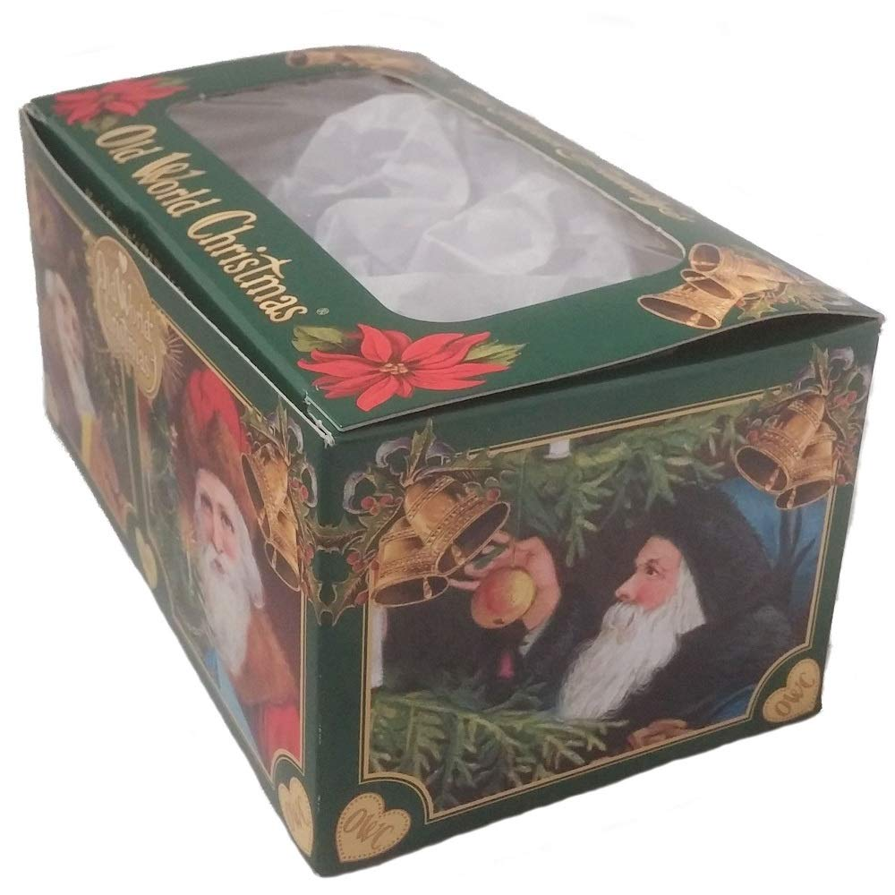 Amazon.com: Old World Christmas Honey Bee Glass Blown Ornament: Home ...