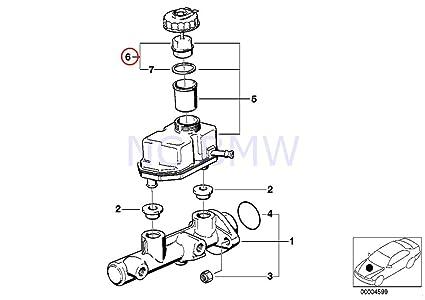 Amazon Com Bmw Genuine Cap With Warning Switch Automotive