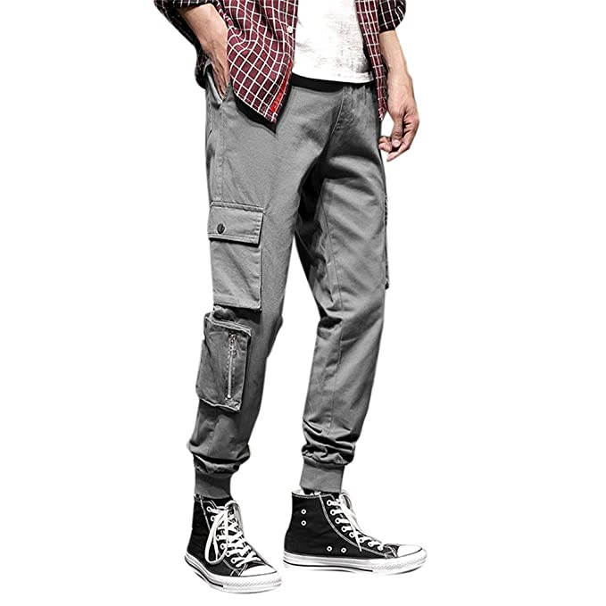 687261e3d8 VPASS Pantalones Vaquero para Hombre