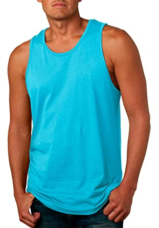 70a66a834c11e Image Unavailable. Image not available for. Color  Next Level Apparel Men s  Jersey Tank Top ...