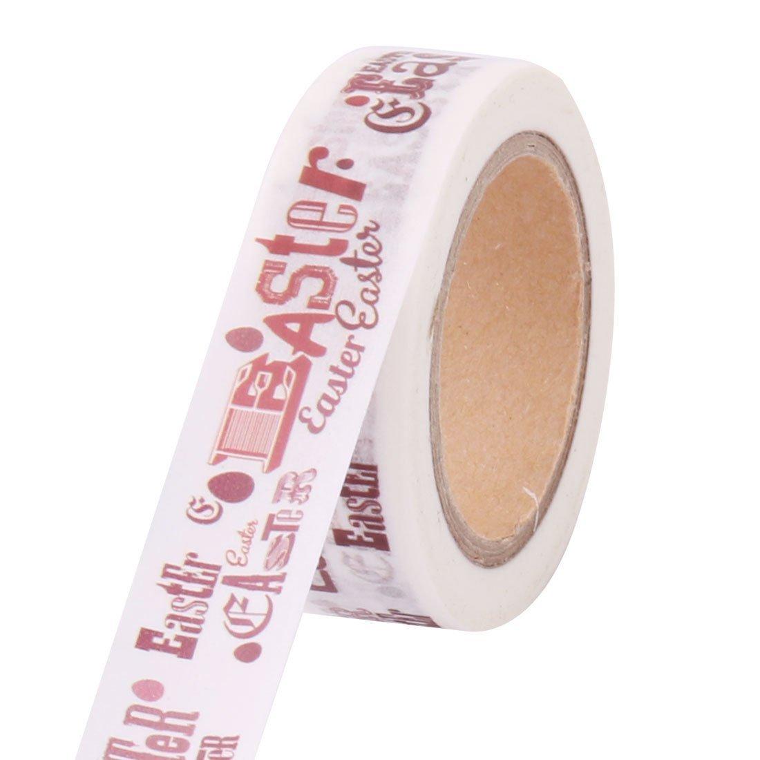 Ruban De Masquage Papier Washi Lettre Dimpression Diy