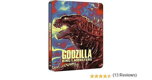 Godzilla: Rey De Los Monstruos Blu-Ray 3d + 2d Steelbook Blu ...