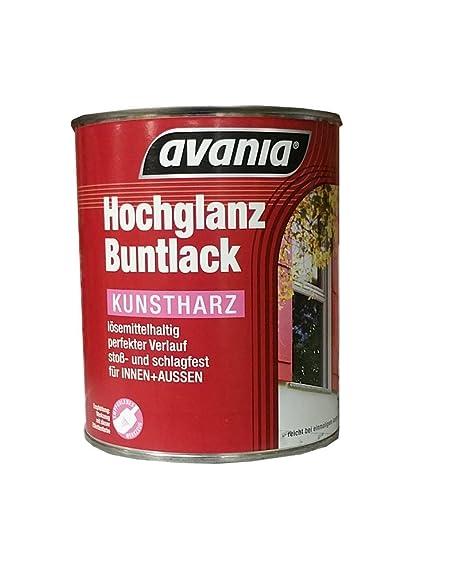 Avania Hochglanz Lack Klarlack Farblos 750 Ml Fur Innen Und
