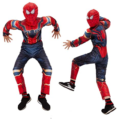 Kids Spider-Man Traje De Halloween Mono Impresión 3D Spandex ...