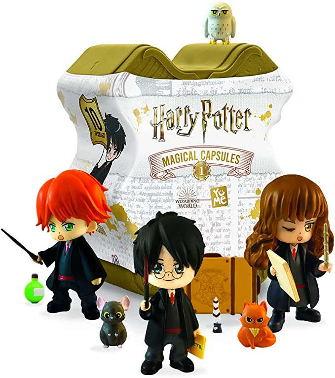 DUJARDIN JOUETS- Cápsulas mágicas Harry Potter, 13510