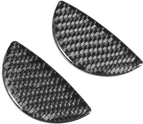 Fydun Cornice di navigazione Trim Cornice in fibra di carbonio a 2 pezzi Console di navigazione Set di coperture Trim adatto per Mini Cooper Countryman F60