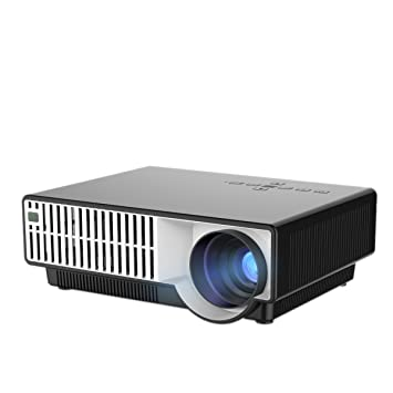 YISCOR carcasa en blanco LED proyector multimedia HD 1080p ...