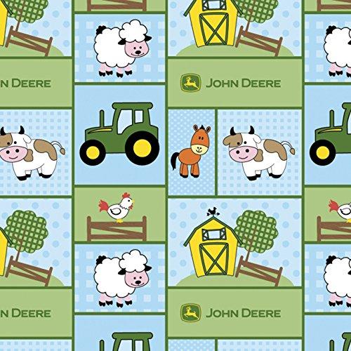 Springs Creative 46794-1600715 John Deere-Nursery 43/44'' 100% Cotton D/R, 15 yd