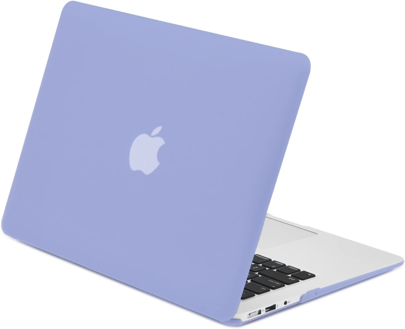 "TOP CASE - Classic Series Rubberized Hard Case Compatible MacBook Air 11"" (A1370 and A1465) - Serenity Blue"