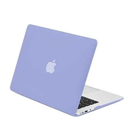 outlet store 87d2c e5a07 TOP CASE - Rubberized Hard Case Cover Compatible with Apple MacBook Air 13