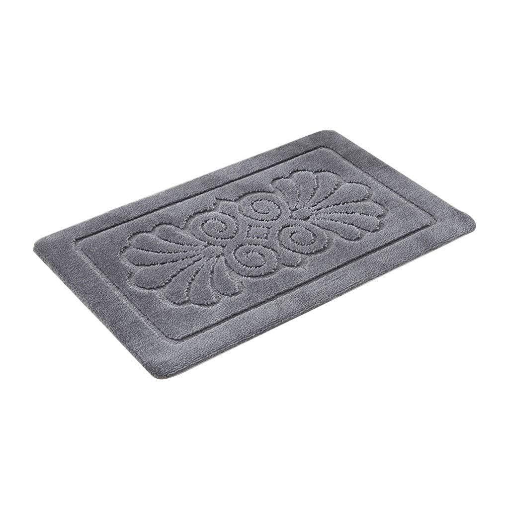 KYCD Non-Slip ZHP Badezimmer Anti-Rutsch-Matte Duschmatte WC saugfähige Entstaubung Teppich Teppich Teppich Sperre Wasser Abriebfest Anti-Matting B07L8FKP22 Duschmatten 654e2d