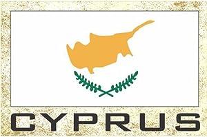 Flag Fridge Refrigerator Magnets – Europe (Country: Cyprus)