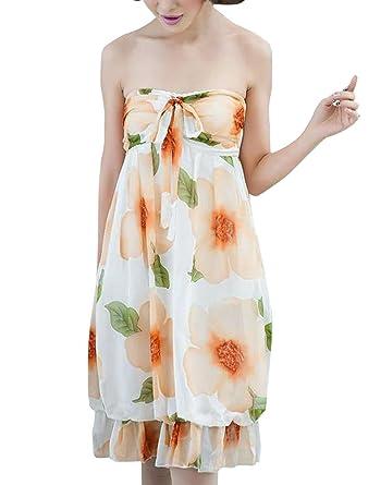 Corbata para mujer Diseño de flores de Prints autoadhesivas para ...
